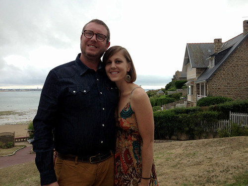 One year anniversary in Saint Malo