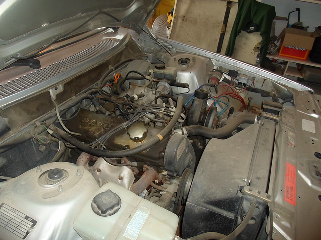 1984 Volvo 244 GLE - 2.3L four cylinder engine