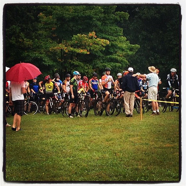 Cyclocross...where rain doesn't stop the race, it makes it better.