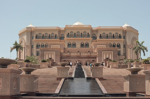 Emirates Palace Hotel, Abu Dhabi - Full View
