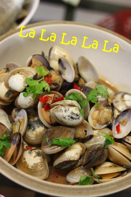 La La (Stir Fried Clams)