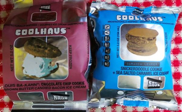 Coolhaus Gourmet Ice Cream Sandwiches in Unique Flavors
