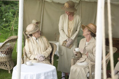 Tea time - Downton Abbey