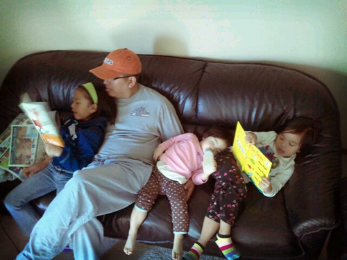 storytime on a relaxing sunday...