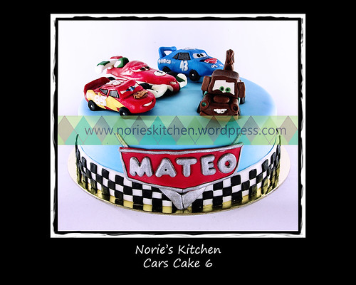 Norie's Kitchen - Cars Cake 6 by Norie's Kitchen