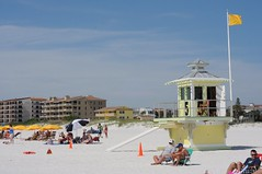 Clearwater beach, Tampa bay