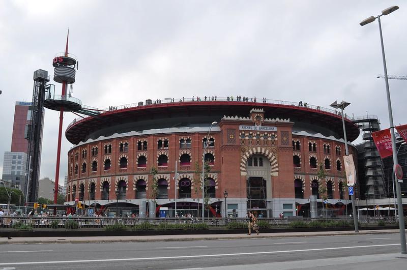 2011.07.26.331 - BARCELONA - Plaza de España - Centro Comercial 'Arenas de Barcelona'