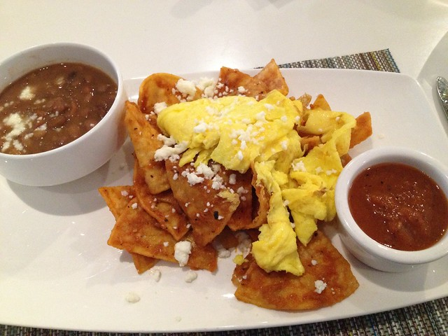 Chilaquiles - Solaire Restaurant + Bar