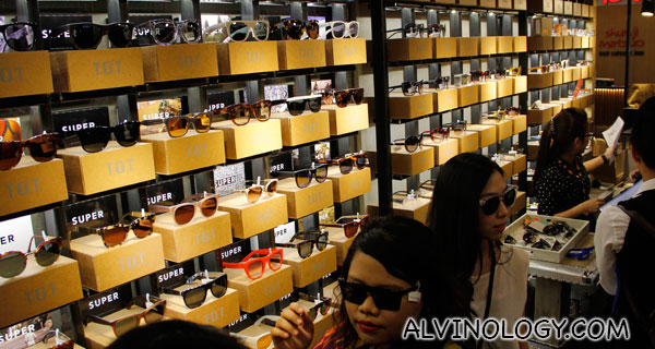 Shop for eyewear like you are shopping for clothes