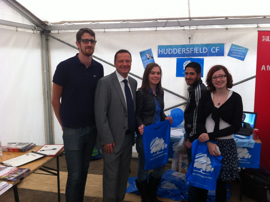 Conservative Future at Huddersfield Uni Freshers' Fair