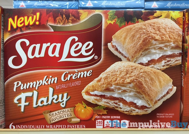 Sara Lee Seasonal Favorites Pumpkin Creme Flaky