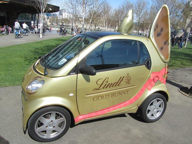 Lindt Easter Bunny Car