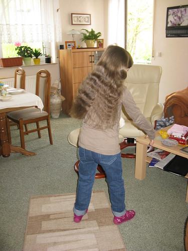 lange Haare