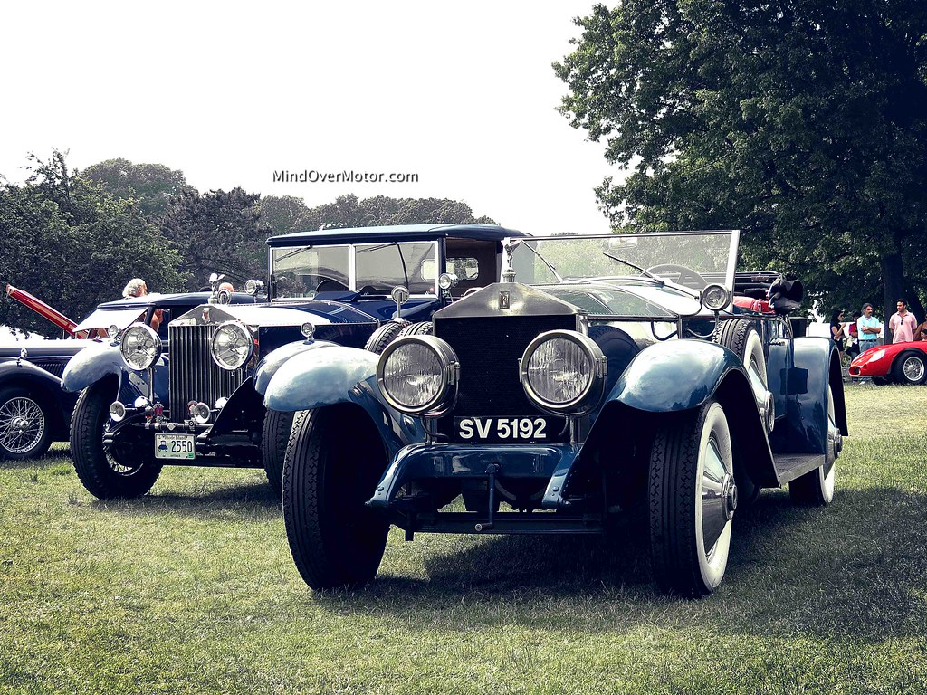 Rolls Royce Phantom II and Silver Ghost