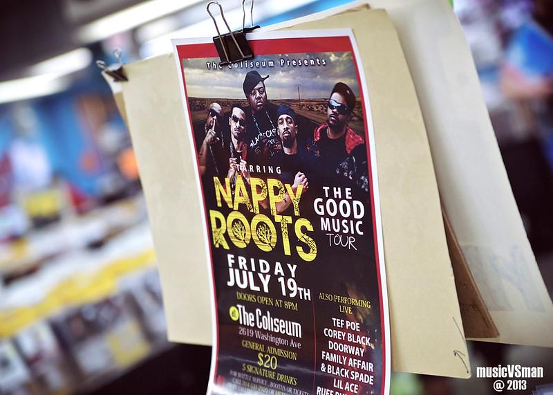Nappy Roots @ Vintage VInyl
