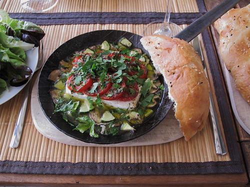 Tomaten-Feta-Pfanne