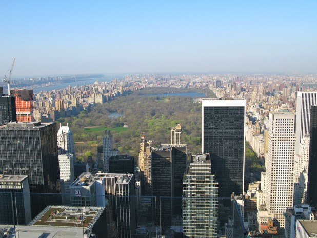 Central Park desde Top of the Rock