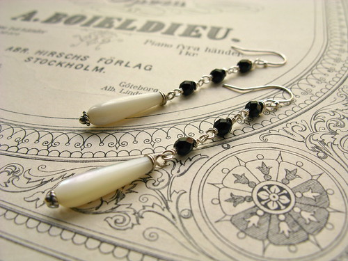Roulette earrings