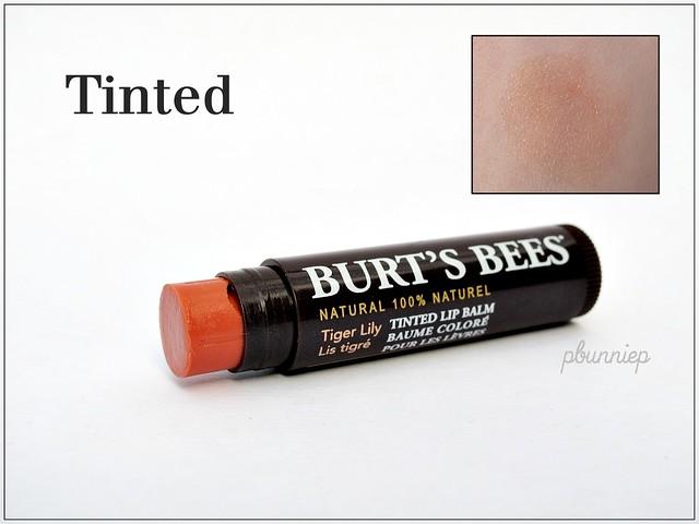 Burts Bees Lip Balm_Tinted Tiger Lily