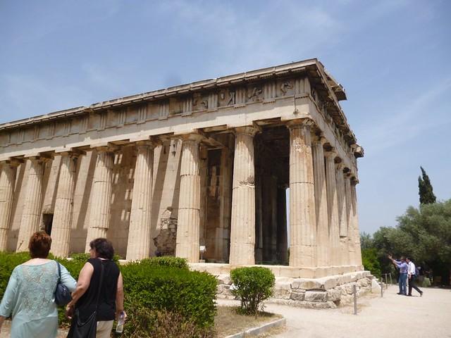 Temple in Agora