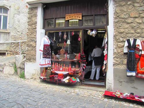 Textile Shop, Ohrid