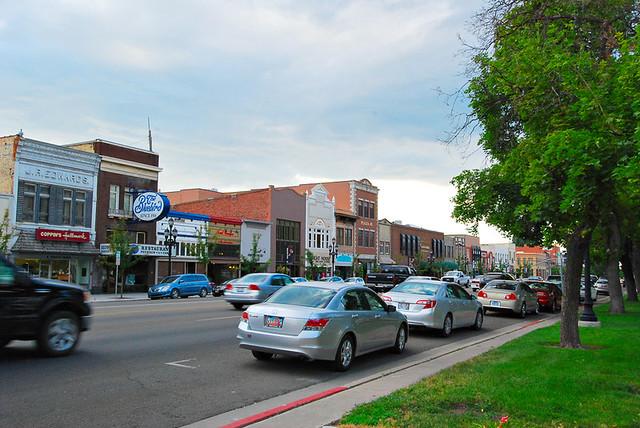 Main Street 1 in Logan, Utah