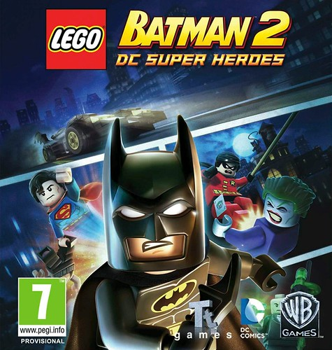 LEGO Batman 2 DC Super Heroes okładka i bonusy