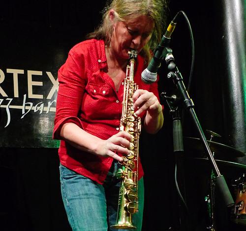 Lotte Anker, Craig Taborn, Gerald Cleaver @ the Vortex 17.4.12