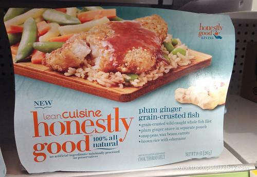 Lean Cuisine Honestly Good Plum Ginger Grain-Crusted Fish