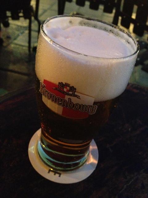 Kronenbourg beer - La Favorite