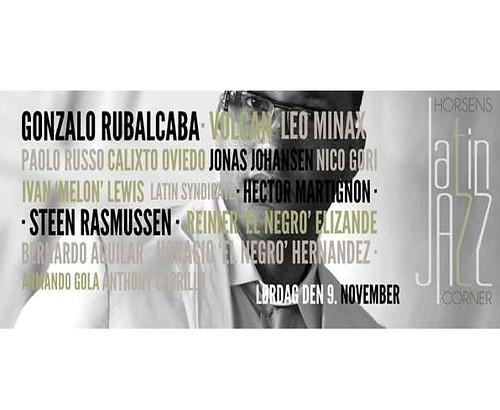 Leo Minax en el Horsens Latin Jazz Festival NOVEMBER 2013
