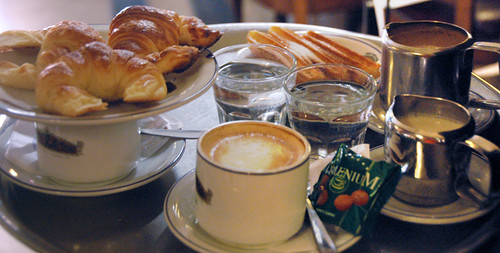 Breakfast at the Tortoni in Buenos Aires, Argentina