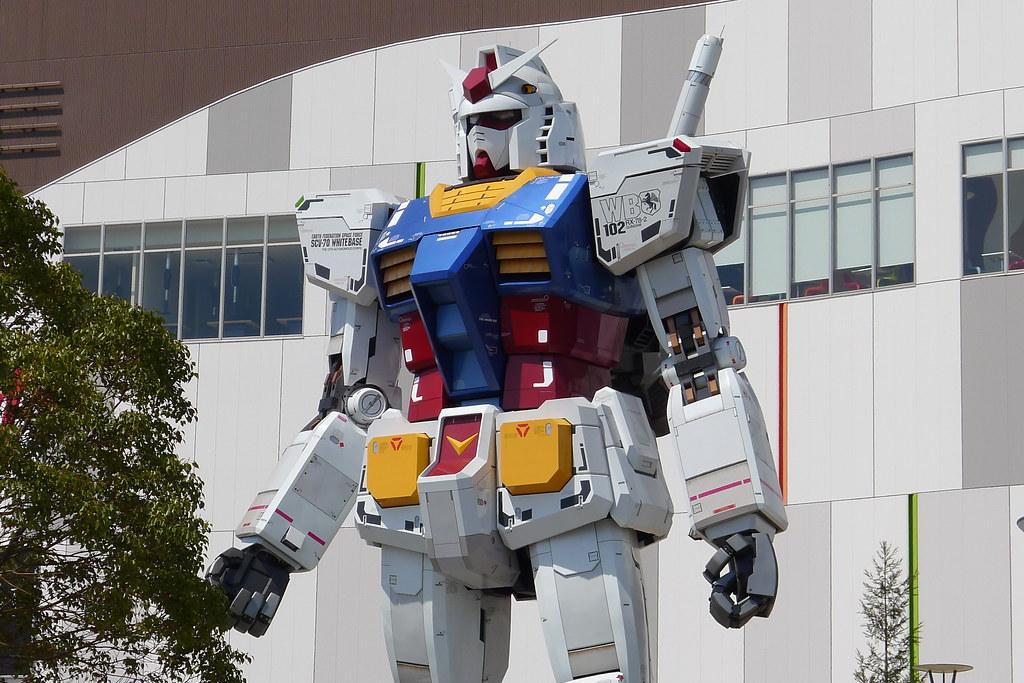 magnetic-rose.net Odaiba Gundam and Venus Fort