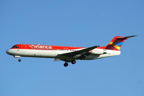 Avianca Brasil | Fokker 100 @ SBGR