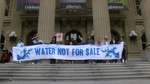 Water Is Not For Sale