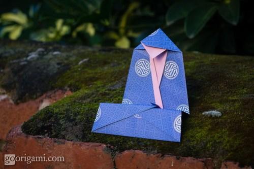 Origami Monk