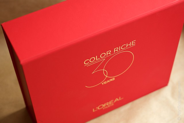 02 L'Oreal Paris Color Riche Lipstick 30 years 30 new shades swatches