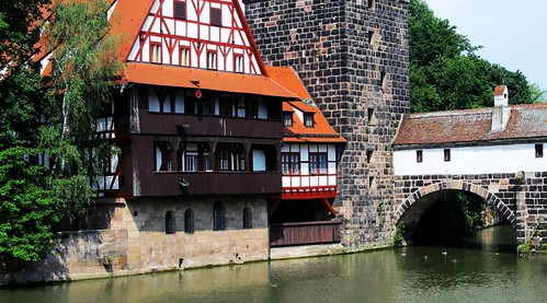 Nuremberg-river-Pegnitz