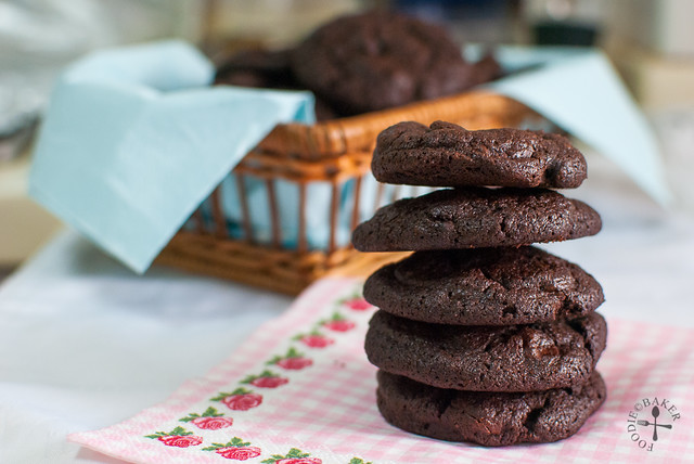 Nigella's Totally Chocolate Chip Cookies