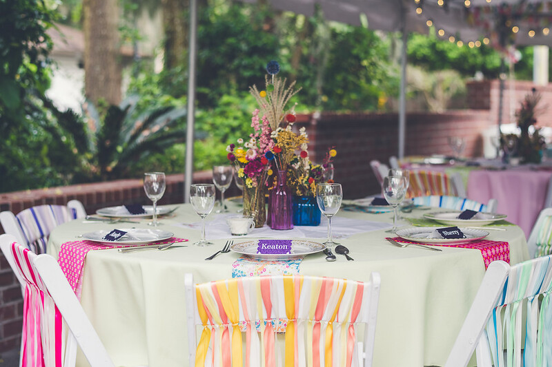 Boho chic DIY wedding from @offbeatbride