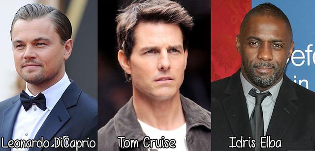 Leonardo DiCaprio Tom Cruise Idris Elba