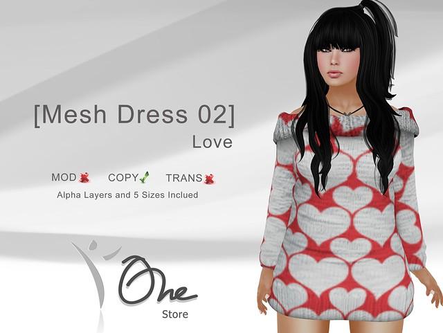 [Mesh Dress 02] Love