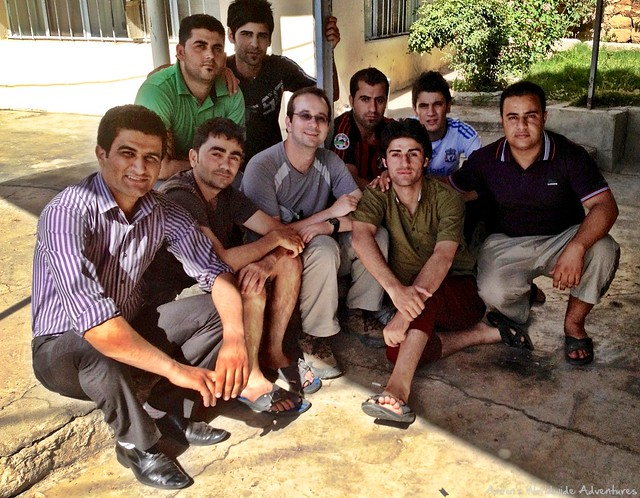 Kurdish Students in Amedy
