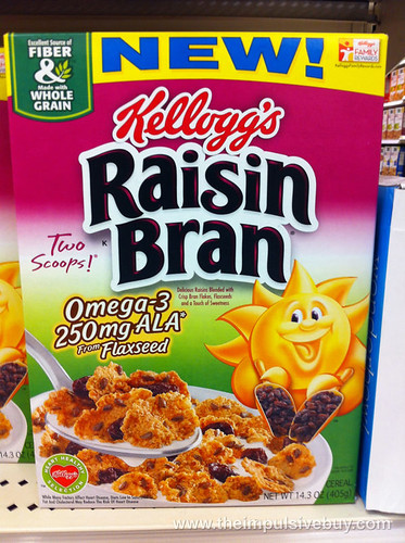 Kellogg's Raisin Bran Omega-3 from Flaxseed
