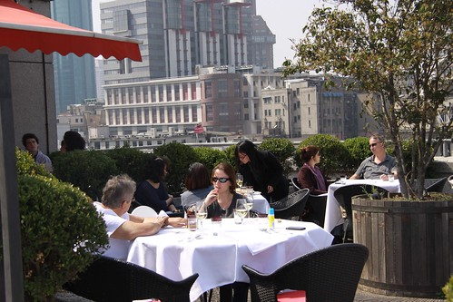 Brunch at M on The Bund