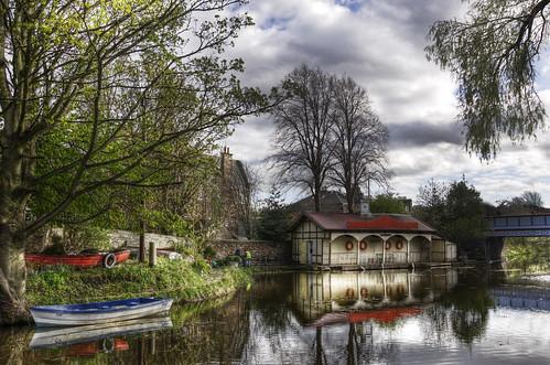 Ashley Boathouse in Spring