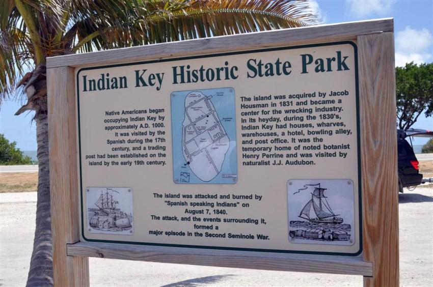 Historia del Indian Key Historic State Park, donde los españoles formamos parte