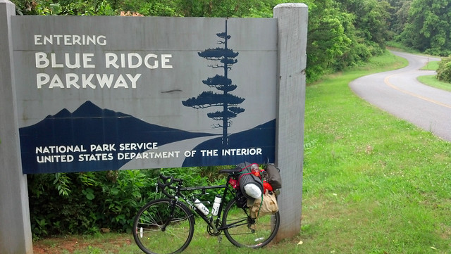 Blue Ridge Parkway Entrance