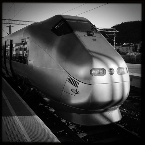 Fast train in the Morning by Davidap2009