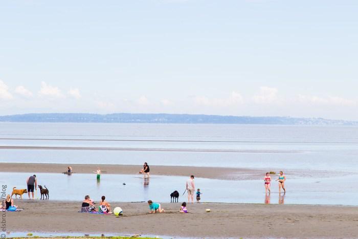 Maple Beach, Point Roberts